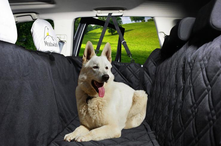 Подстилка для собаки на заднее сиденье