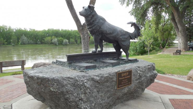 Памятник верности Старый Шеп