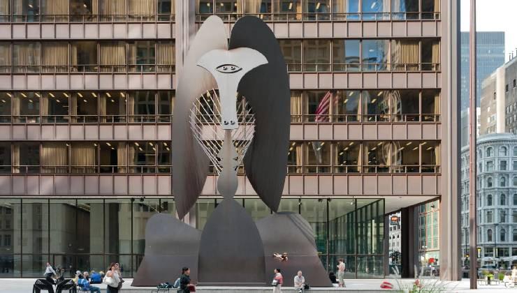 Неназванный памятник в Чикаго